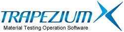 Trapezium Material Testing Operation Software